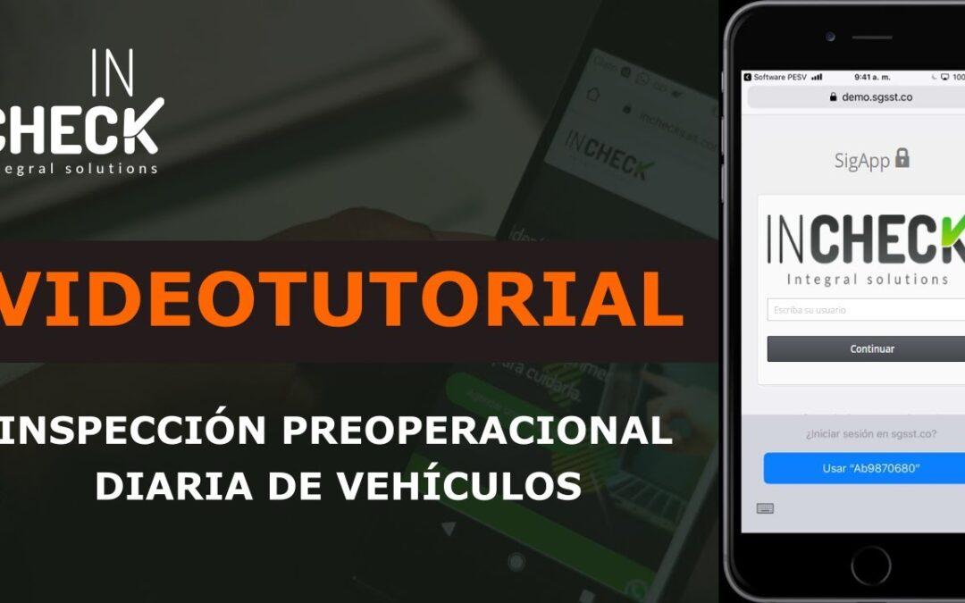 Tutorial Preoperación Diaria de Vehículos, Maquinaria Amarilla y Pesada y Motocicletas