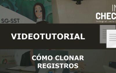 Tutorial Cómo Clonar Registros