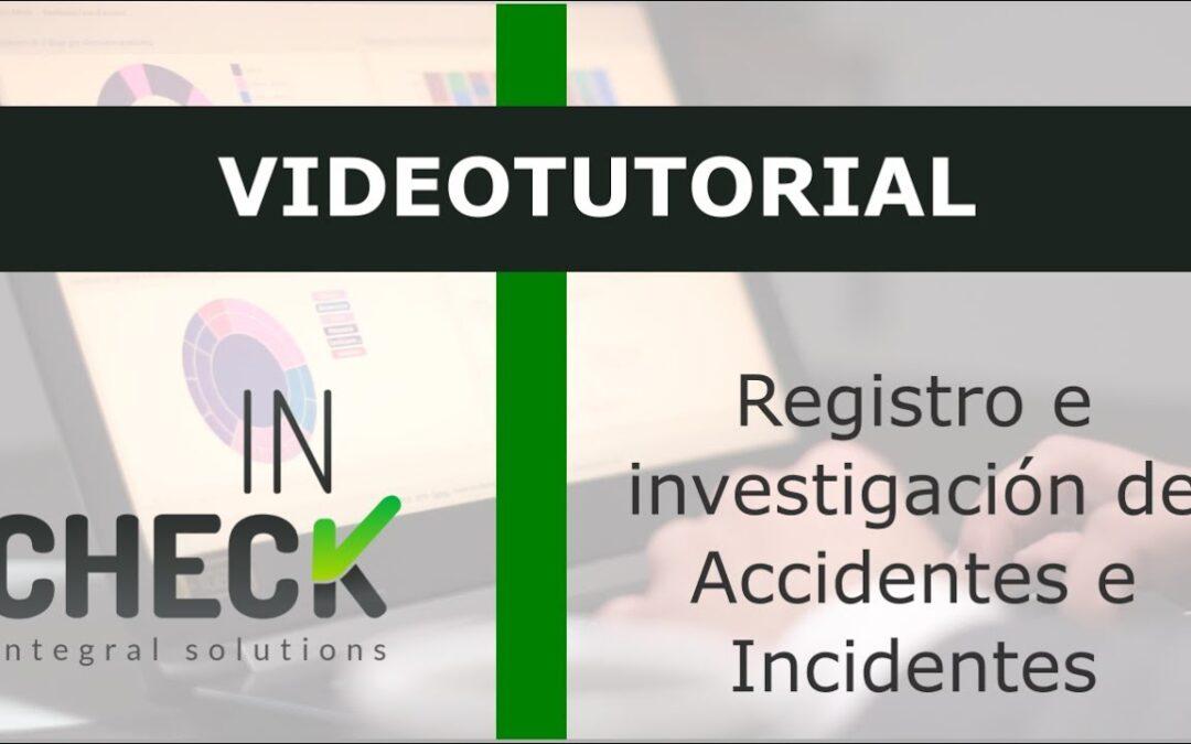 Tutorial Registro en Investigación de Accidentes e Incidentes